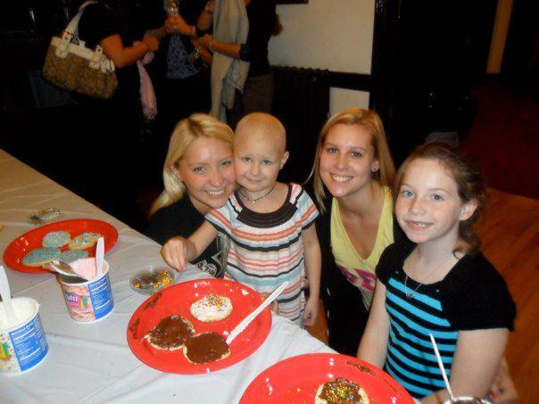 Angie, Daisy, Nicole and Molly (Daisy's sister)