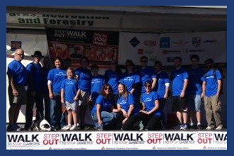 East Coast O & P Buffalo Step Outs and Walks to Stop Diabetes