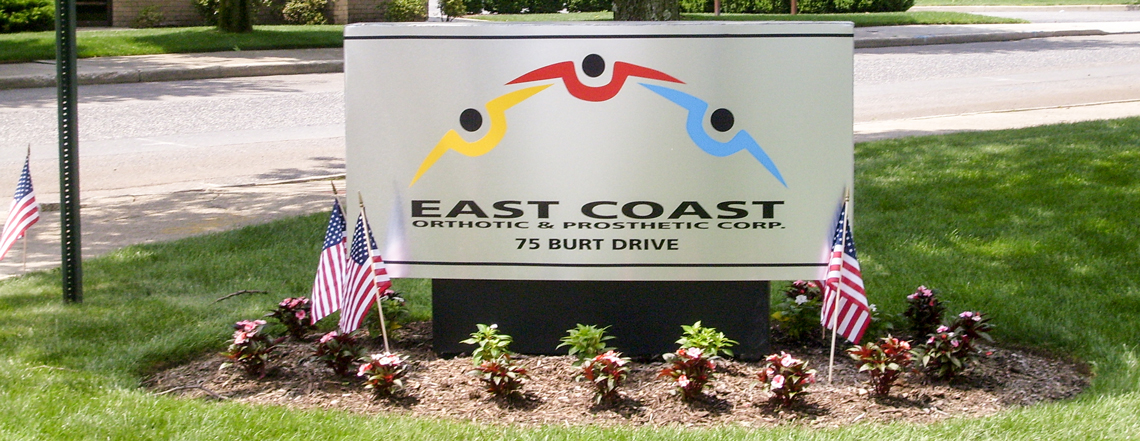 East Coast O&P corporate office in Long Island, Suffolk county neighboring Nassau county.