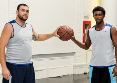 Orthotic Fitters, Cody Hugasian and Jarell Fothergill unite.