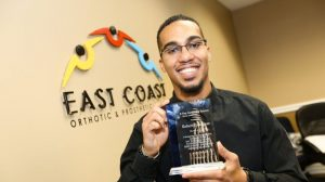East Coast Orthotic and Prosthetic Patient Advocate Robert Rodriguez Awarded