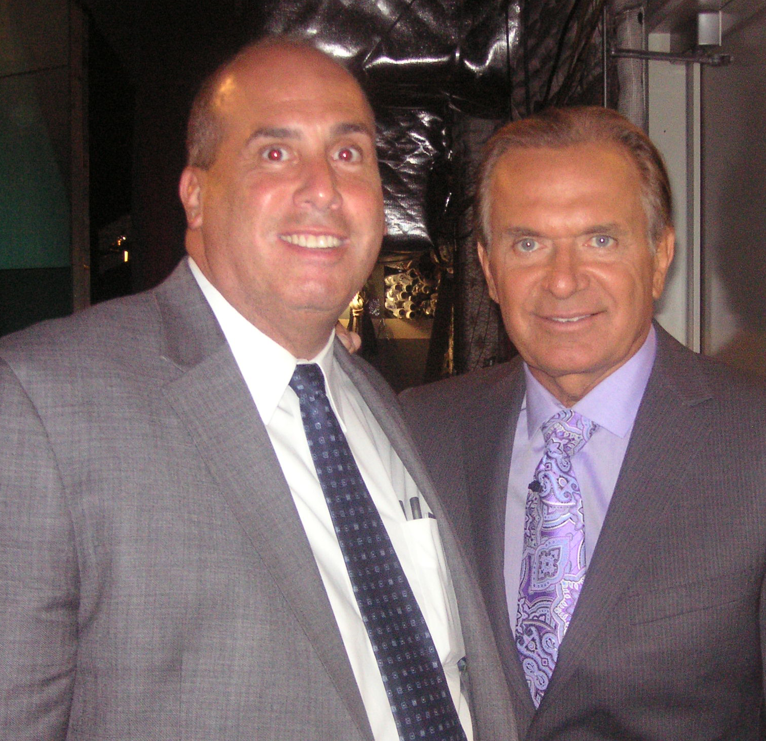 ECOP President Lawrence J. Benenati and Dr. Drew Ordon