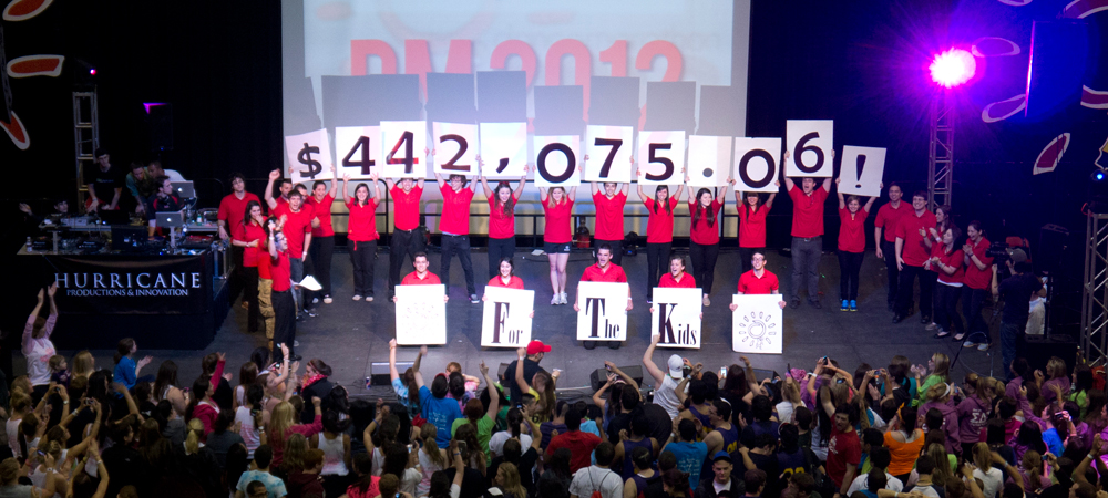 Dance Marathon Grand Total