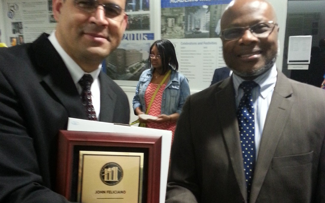 East Coast O&P Orthotist Honored By SUNY Downstate