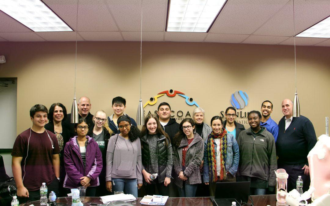 Half Hollow Hills HS West Students Visit East Coast O & P